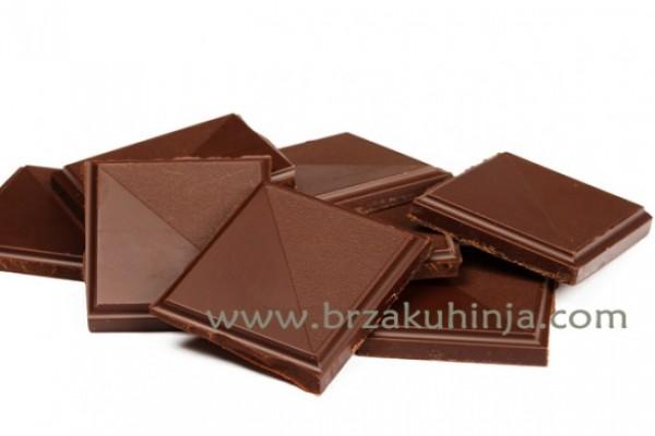 Umesto mlečne čokolade – crna čokolada