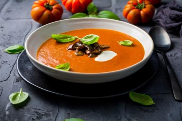 Čorba od paradajza i patlidžana