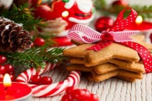 Božić i božićne čokoladne zvezdice..