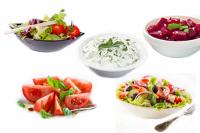 Salate uz razne vrste jela