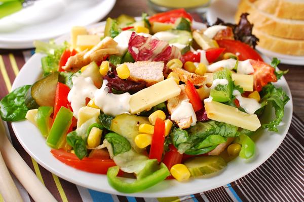 Vitaminska zdrava  salata