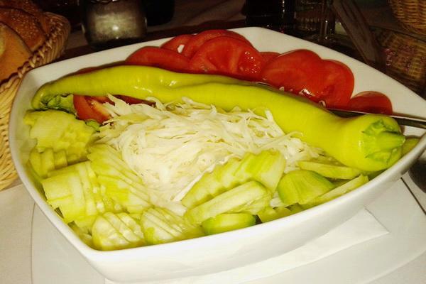 Kupus salata za porodični ručak