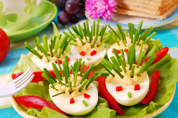 Kuvana jaja u obliku ježića