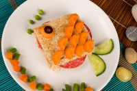 Sendvič u obliku ribice