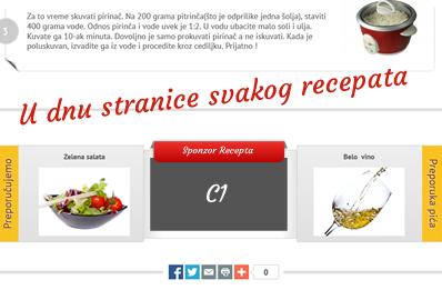 Brza kuhinja - oglasi stranica recepti