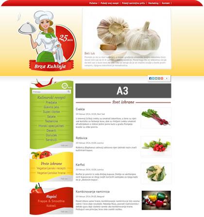 Brza kuhinja - oglasi stranice